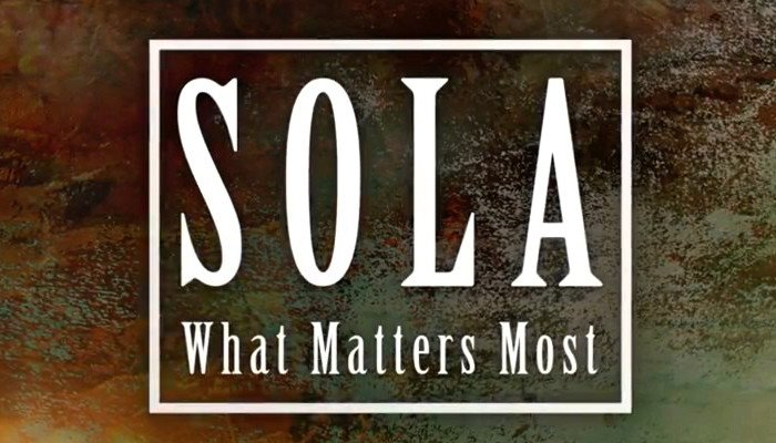 5 Solas - Christ Alone