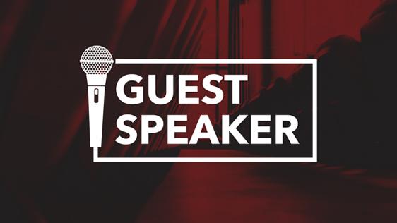 Guest Speaker Michael Pierson