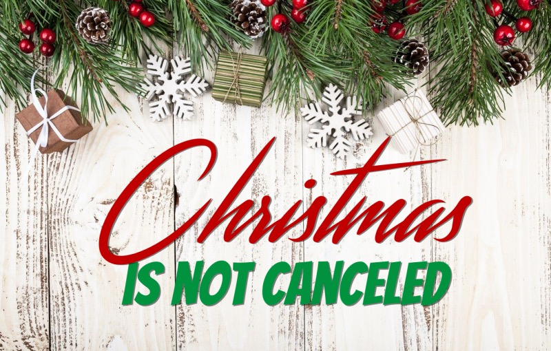 Christmas is Not Canceled Shepherds Luke 2:6-20