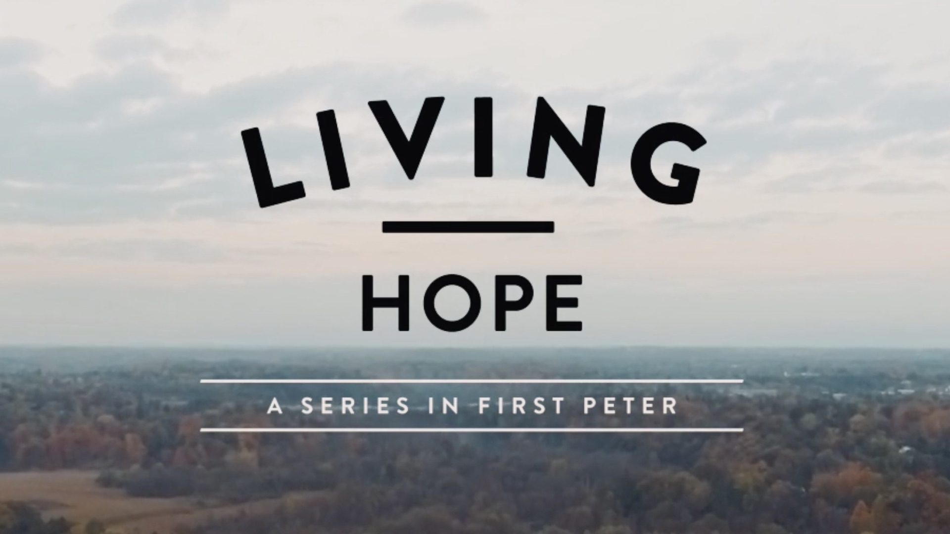 Living Hope 1 Peter 3:13-17